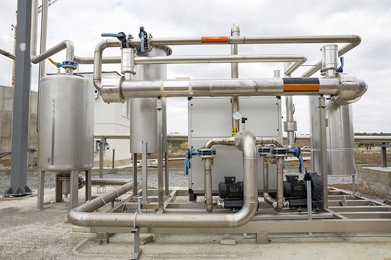 Maintenance sous systemes centrale cogeneration
