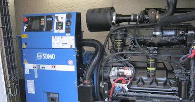 Maintenance préventive de groupe électrogène