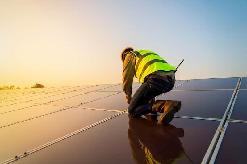 Installation de panneau solaires
